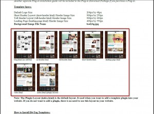 Weebly page layouts