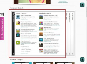 weebly templates features