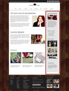Weebly Theme LinenTree