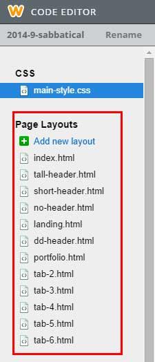 html-page-layouts