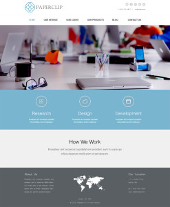Paperclip-Landing-Page-Layout