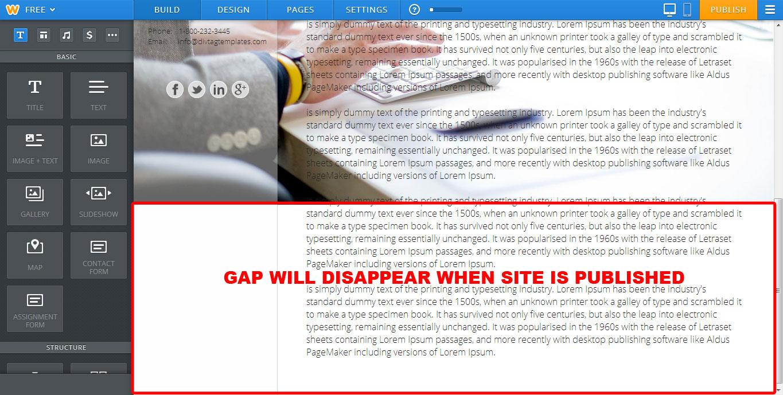 bg-gap